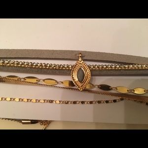 NWT Rue 21 multipack sexy chokers necklaces